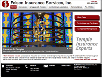 Felsen Insurance Services sports a new look with a website re-design by Bonnie B